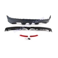 R32 Look Rear Bumper + Sport Exhaust System for Volkswagen Golf 5