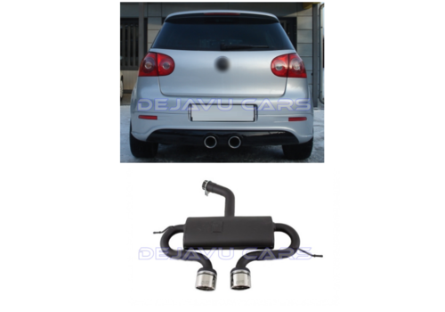 Ulter Sport R32 R20 Look Sport Exhaust System for Volkswagen Golf 5 & Golf 6