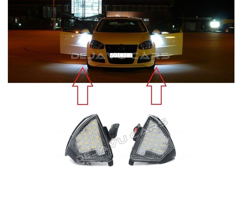 LED Beleuchtung unter dem Außenspiegel für Volkswagen Golf 5