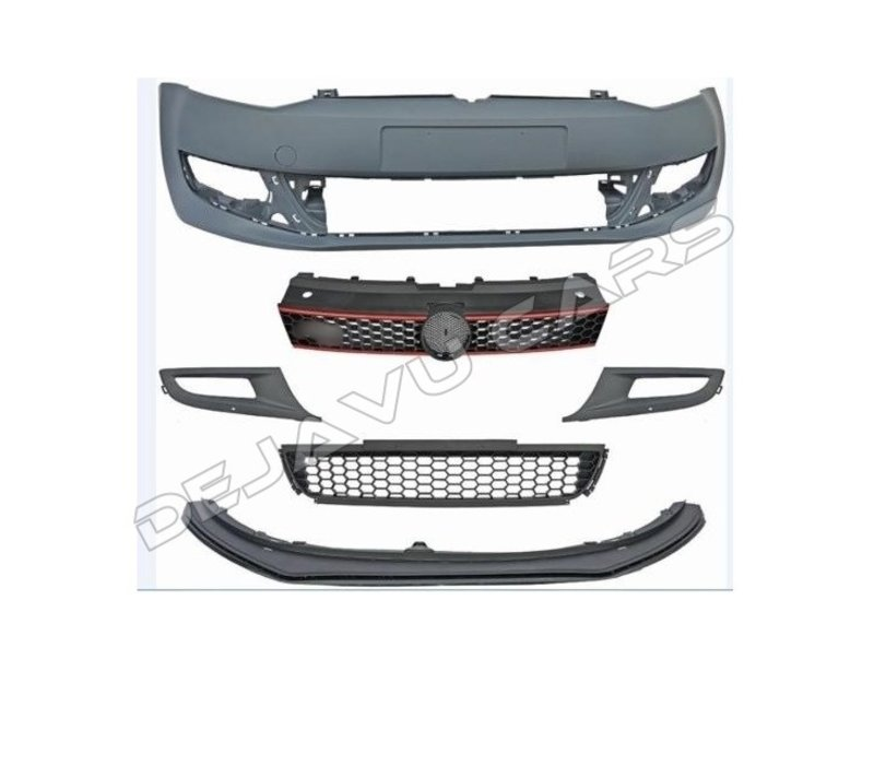 GTI Look Front bumper for Volkswagen Polo 5 (6R)