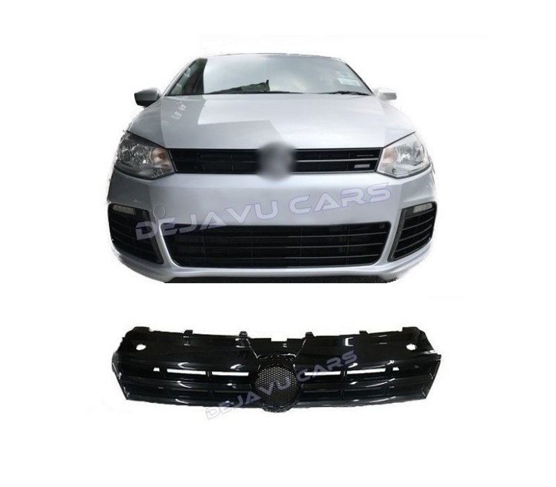 R Line Look Front Grill for Volkswagen Polo 5 (6R/6C)