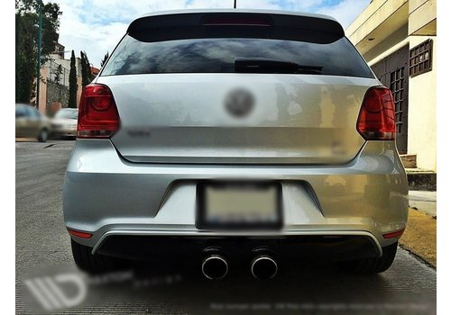 Maxton Design R20 Look Diffusor für Volkswagen Polo 6R GTI