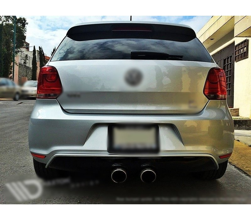 R20 Look Diffuser for Volkswagen Polo 6R GTI