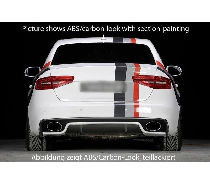 RS4 Look Diffusor für Audi S4 B8.5 / S line