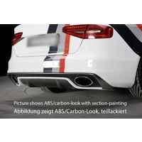 RS4 Look Diffuser voor Audi S4 B8.5 / S line