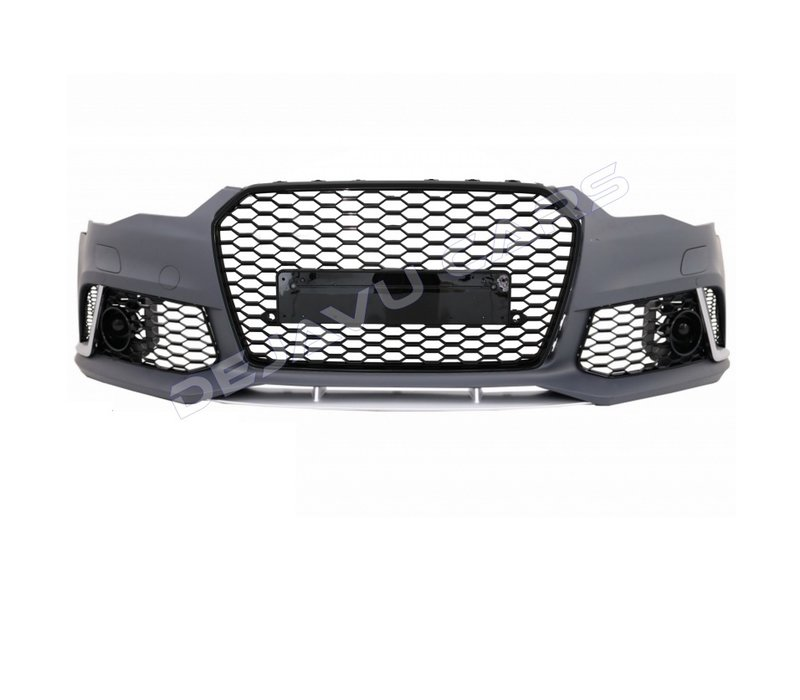 RS6 Look vordere Stoßstange für Audi A6 C7.5 Facelift