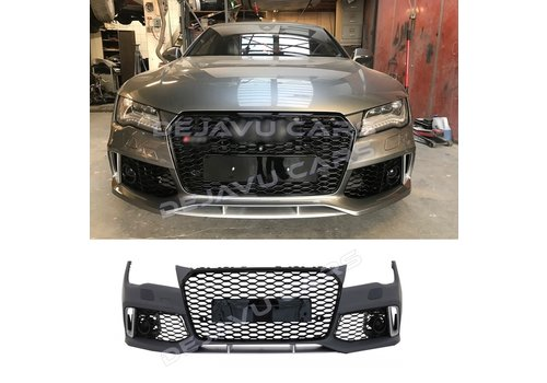 OEM LINE RS7 Facelift Look Front bumper for Audi A7 4G