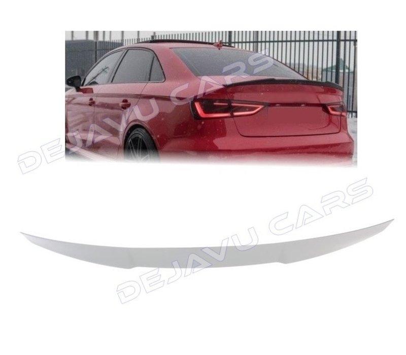 S3 Look Achterklep spoiler lip voor Audi A3 8V