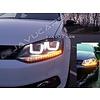 OEM LINE Xenon Look U LED Scheinwerfer für Volkswagen Polo 6R / 6C