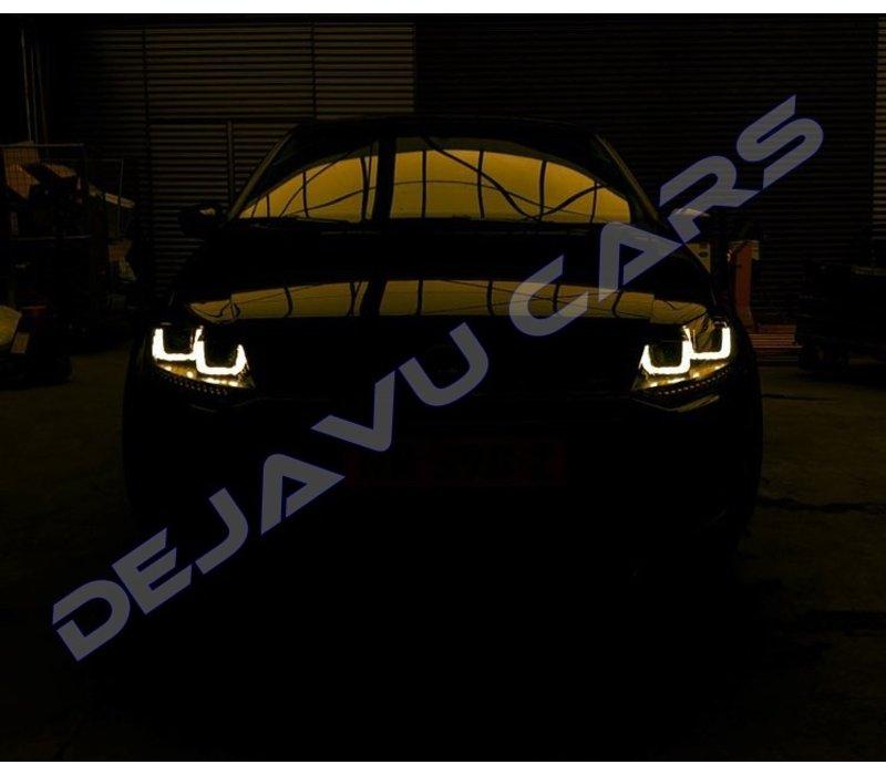 Xenon Look U LED Scheinwerfer für Volkswagen Polo 6R / 6C
