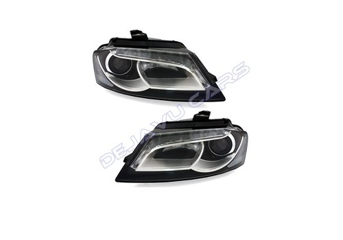 DEPO LED Headlights Bi Xenon look for Audi A3 8P