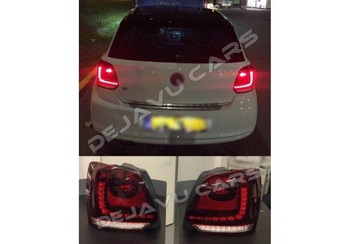 OEM LINE® Full LED Tail Lights for Volkswagen Polo 6R / 6C