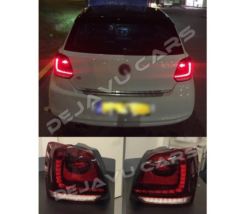 Car Tail Lights >> Dejavu Cars Oem Line Full Led Tail Lights For Volkswagen Polo 6r 6c