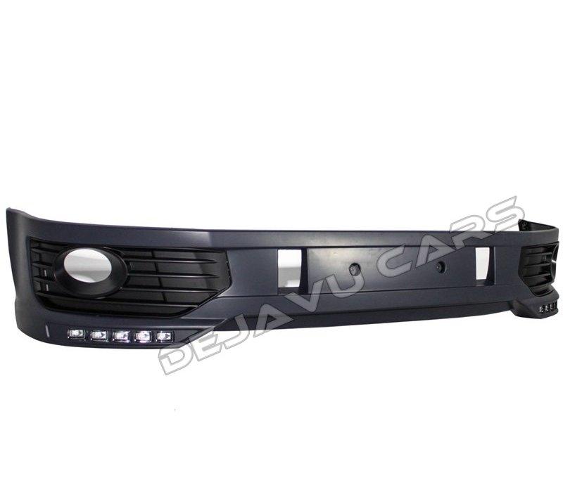 Sportline Look Voorbumper + LED DRL voor Volkswagen Transporter T5