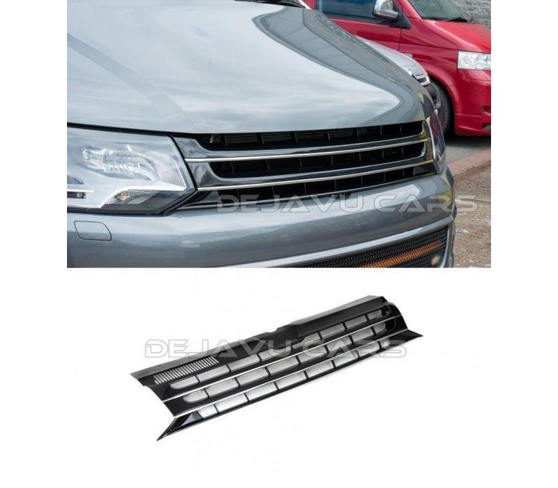 Kühlergrill (Badgeless) für Volkswagen Transporter T5