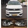 DEPO Bi Xenon Look LED Headlights for Volkswagen Transporter T5