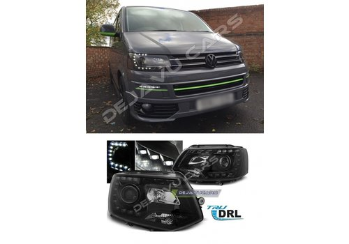 OEM LINE LED Xenon Look Headlights for Volkswagen Transporter T5