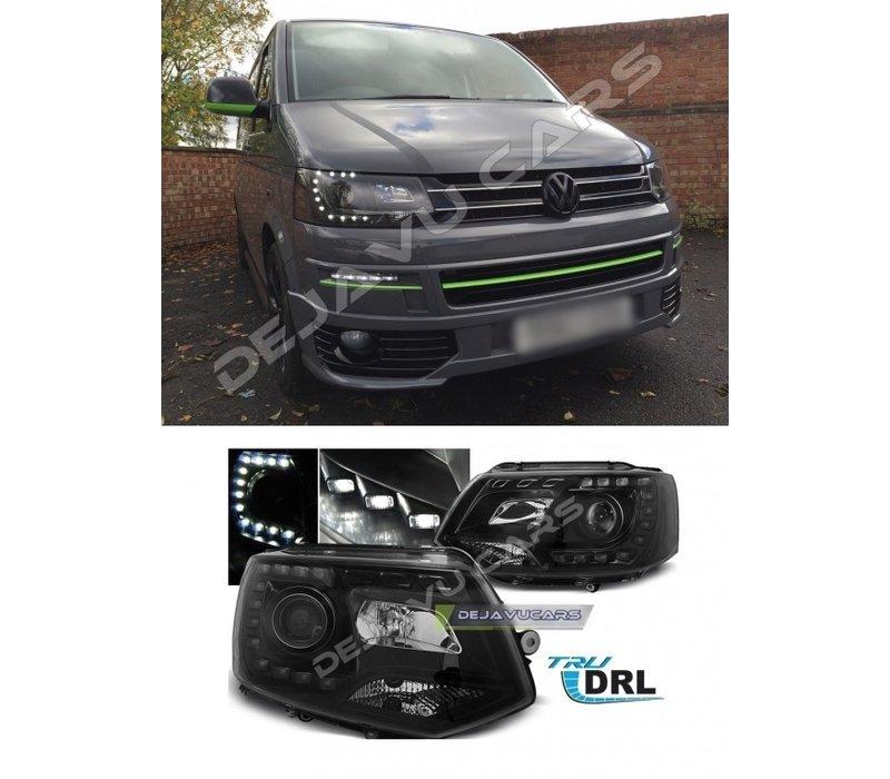 LED Xenon Look Headlights for Volkswagen Transporter T5