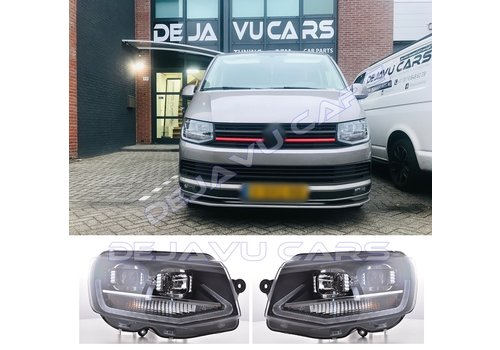 OEM LINE LED Xenon Look Headlights for Volkswagen Transporter T6