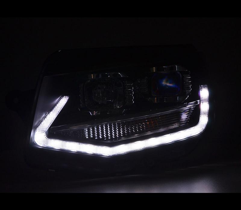 LED Xenon Look Scheinwerfer für Volkswagen Transporter T6