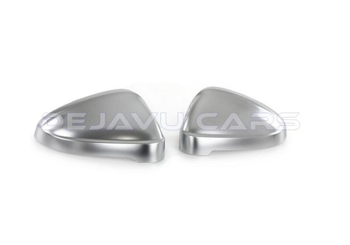 OEM LINE Matt Chrome Mirror Caps for Audi A4 B9 8W, S4, S line & A5 B9 F5, S5, S line