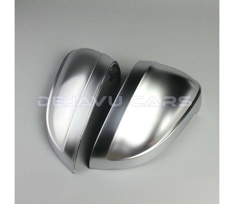 Mat Chrome Spiegelkappen voor Audi A4 B9 8W, S4, S line & A5 B9 F5, S5, S line