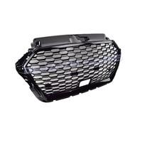 RS3 QUATTRO Look Front Grill voor Audi A3 8V met ACC