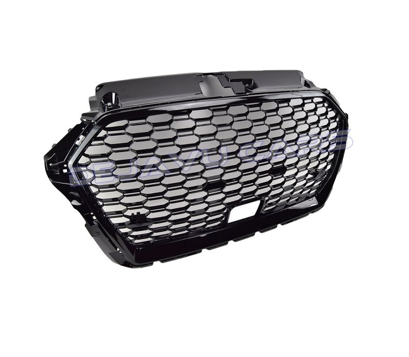 RS3 QUATTRO Look Front Grill for Audi A3 8V with ACC