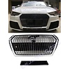 OEM LINE® Diamond Look Front Grill for Audi A4 B9