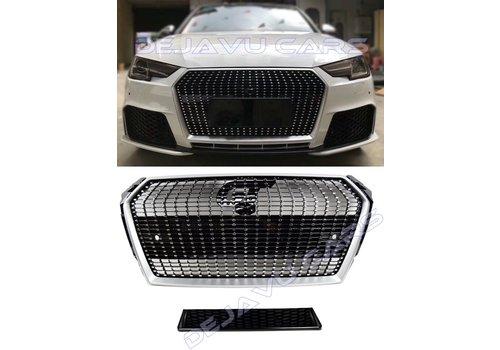 OEM LINE Diamond Look Front Grill voor Audi A4 B9
