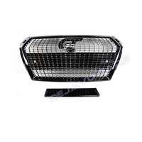 RS4 Diamond Look Front Grill voor Audi A4 B9