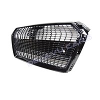 Black Diamond Look Kühlergrill für Audi A4 B9