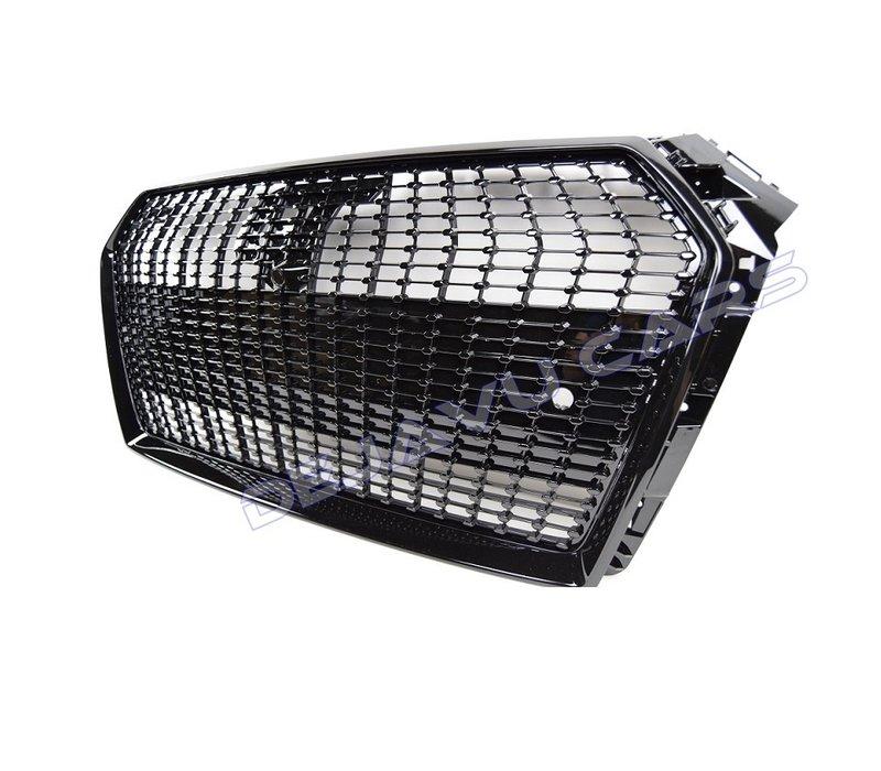Black Diamond Look Front Grill voor Audi A4 B9