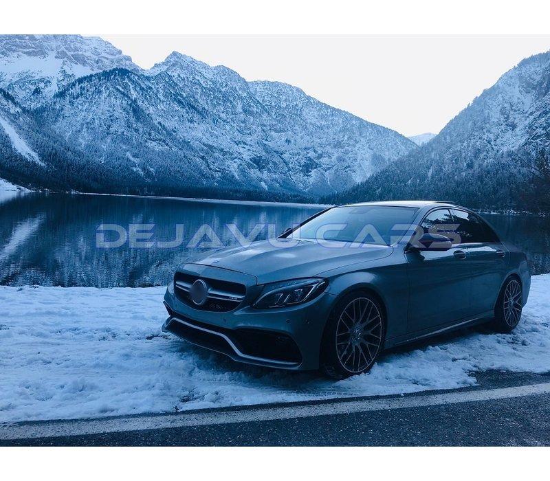 C63 AMG Look Motorhaube für Mercedes Benz C-Klasse W205