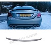 OEM LINE AMG Look Tailgate spoiler lip for Mercedes Benz C-Class W205