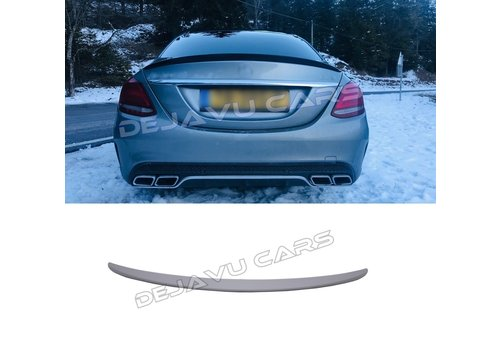OEM LINE AMG Look Achterklep spoiler lip voor Mercedes Benz C-Klasse W205