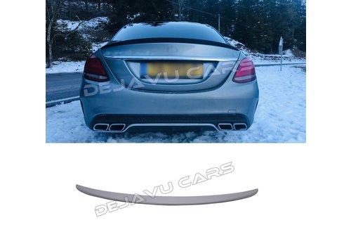OEM LINE AMG Look Heckspoiler lippe für Mercedes Benz C-Klasse W205