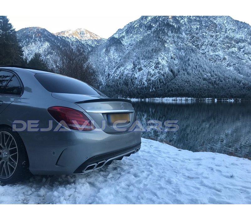 AMG Look Achterklep spoiler lip voor Mercedes Benz C-Klasse W205