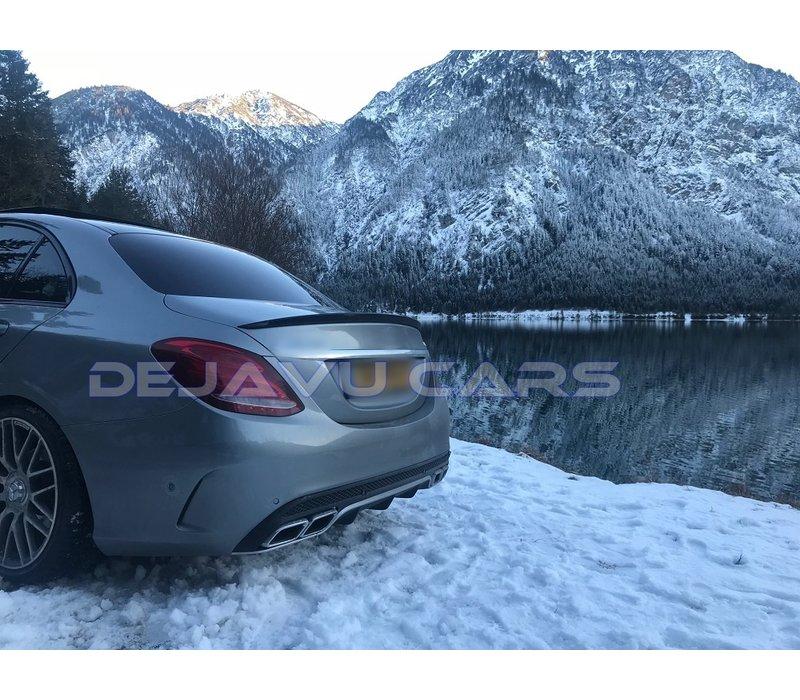 C63 AMG Look Achterbumper voor Mercedes Benz C-Klasse W205