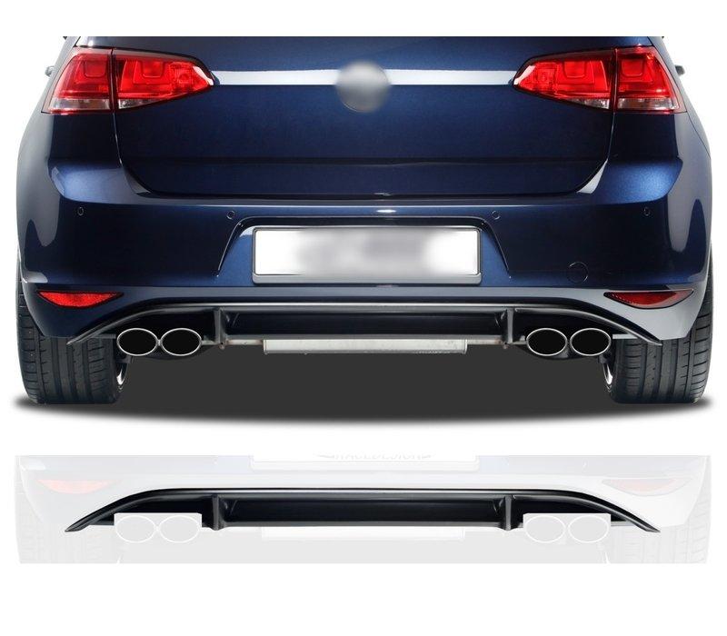 R Look Diffuser for Volkswagen Golf 7