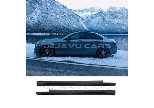 OEM LINE AMG  Look Side skirts for Mercedes Benz C-Class W205