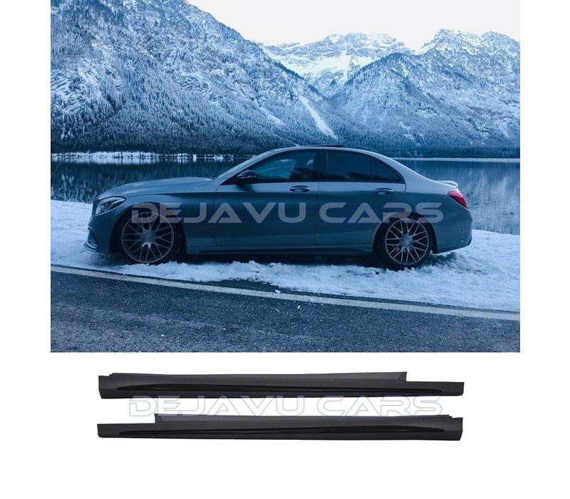 AMG  Look Seitenschweller für Mercedes Benz C-Klasse W205