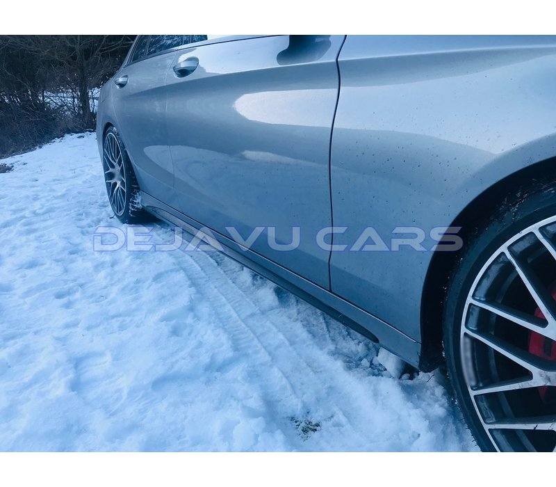 AMG Look Side skirts voor Mercedes Benz C-Klasse W205