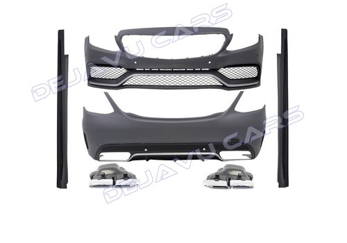 OEM LINE C63 AMG Look Body Kit for Mercedes Benz C-Class W205