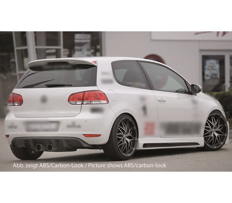 R20 Look Diffuser for Volkswagen Golf 6