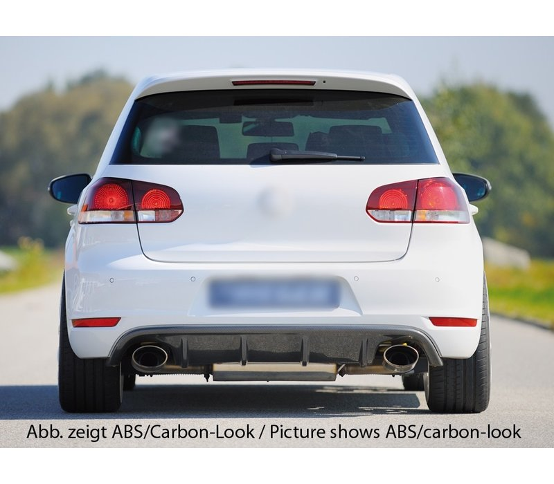 RS Look Diffuser for Volkswagen Golf 6 GTI / GTD