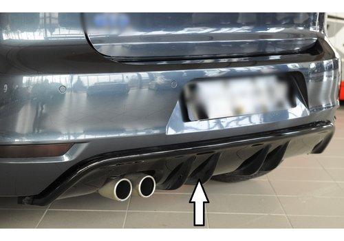 OEM LINE Diffusor für Volkswagen Golf 6 GTD
