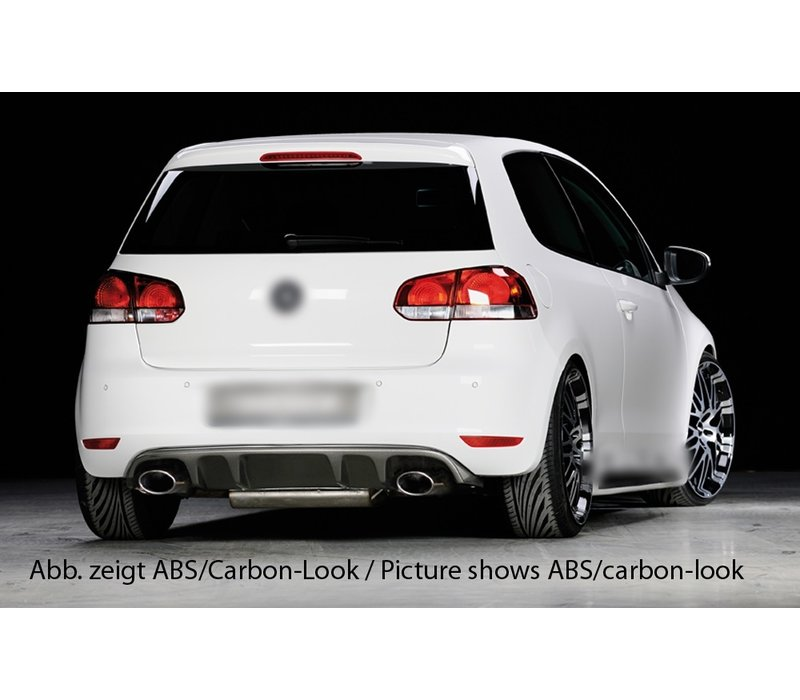 RS Look V2 Diffuser for Volkswagen Golf 6 GTI / GTD