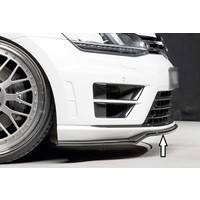 Front Splitter for Volkswagen Golf 7 R /  R line