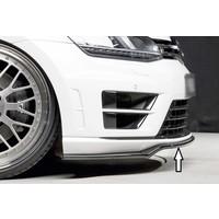 Front Splitter voor Volkswagen Golf 7 R /  R line